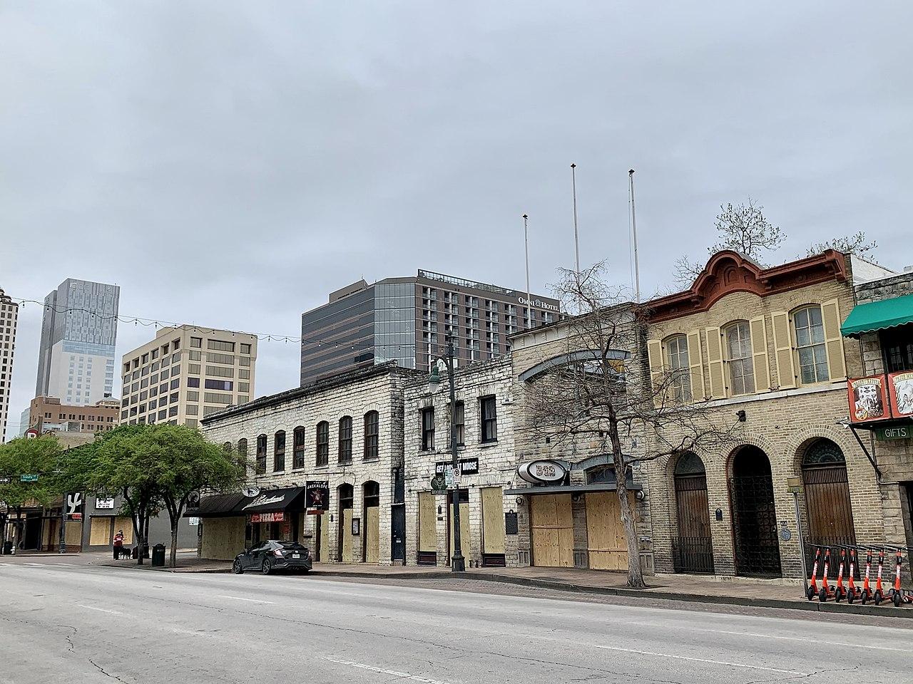 empty street coronavirus
