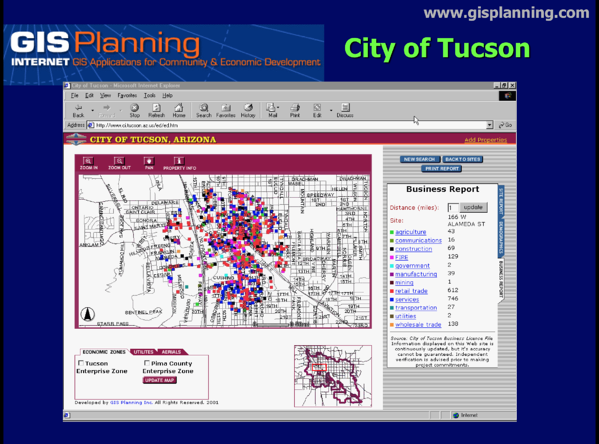 City of Tucson Business Report 2003