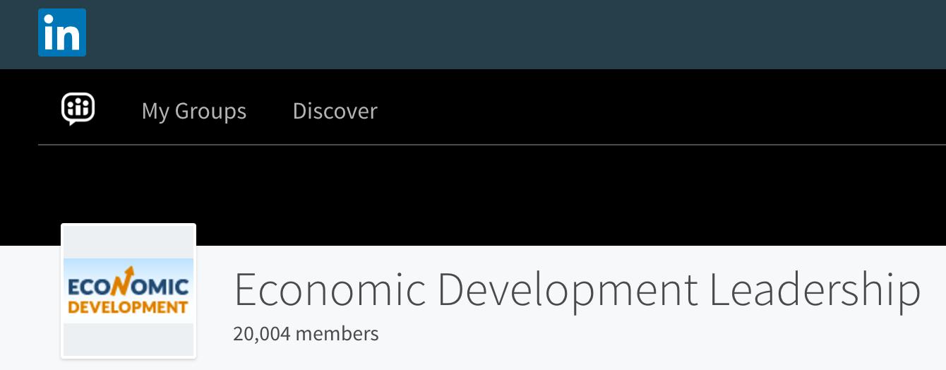 LinkedIn Economic Development Leadership