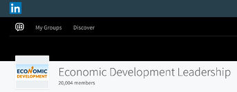 LinkedIn Economic Development Leadership