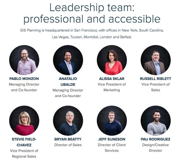 GIS_Planning__leadership team