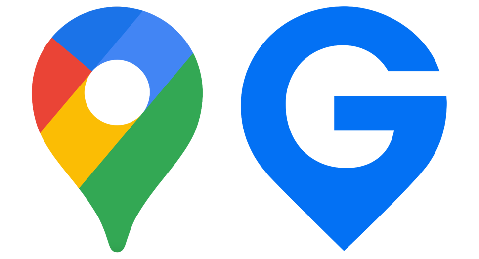 Google Maps Icon and GIS Planning Icon