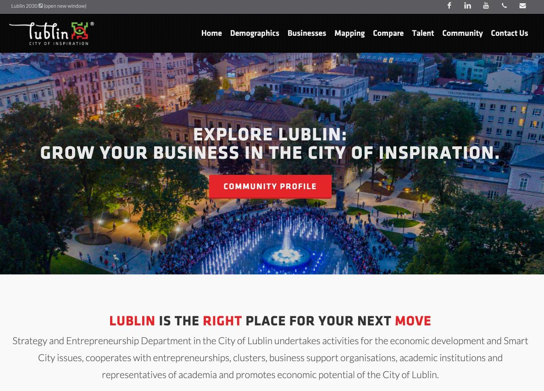 Lublin microsite header