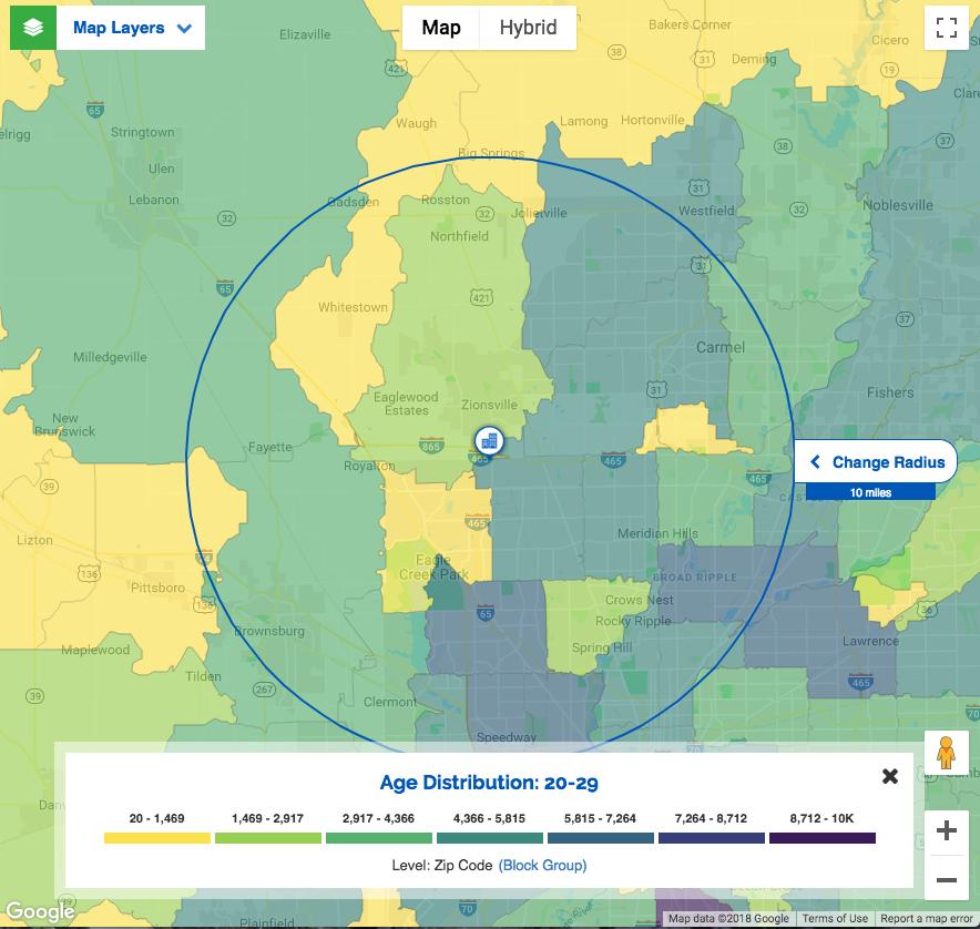 New ZPE heat map