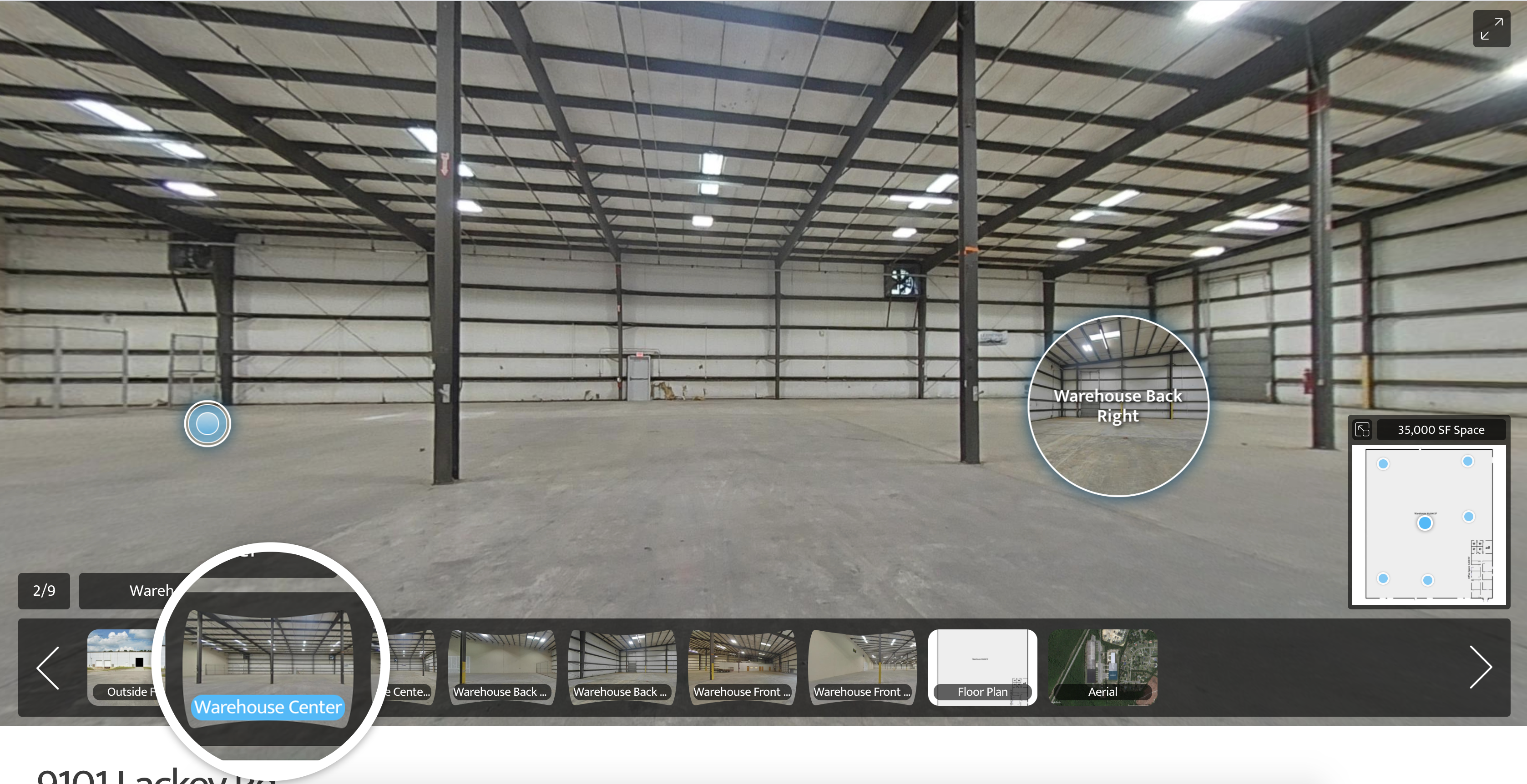 Virtual Tour-CustomTour warehouse
