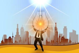 lightbulb place marketing city
