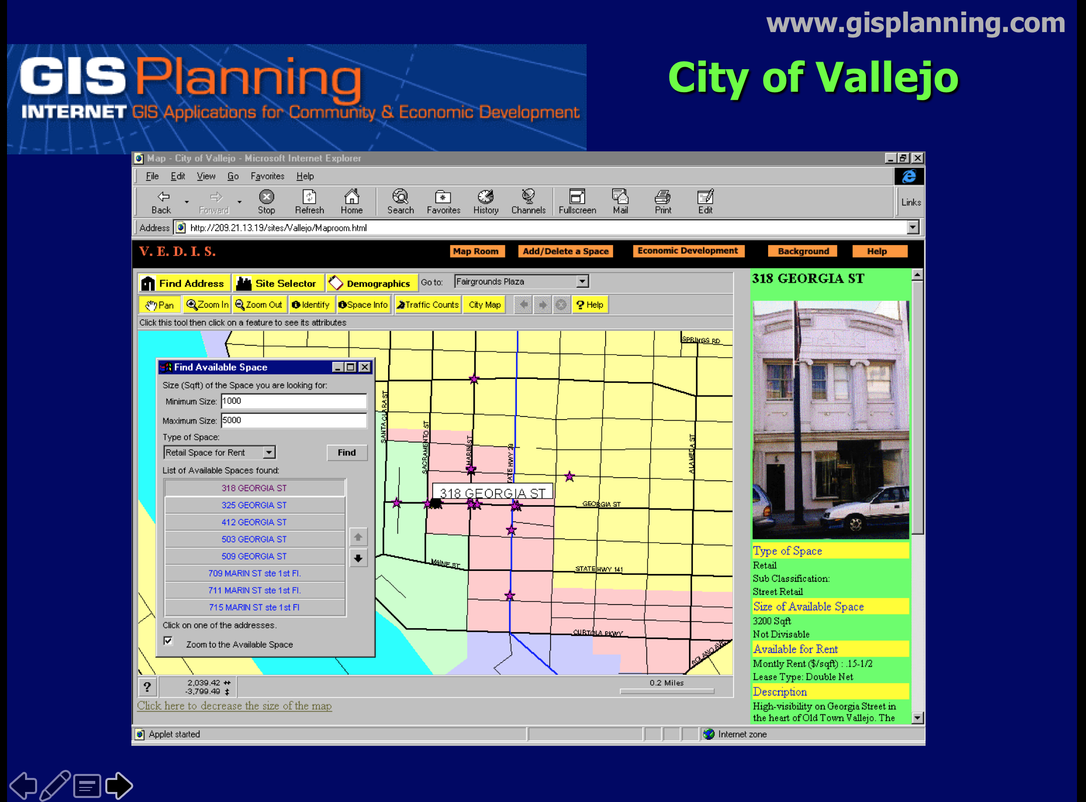 City of Vallejo 1998