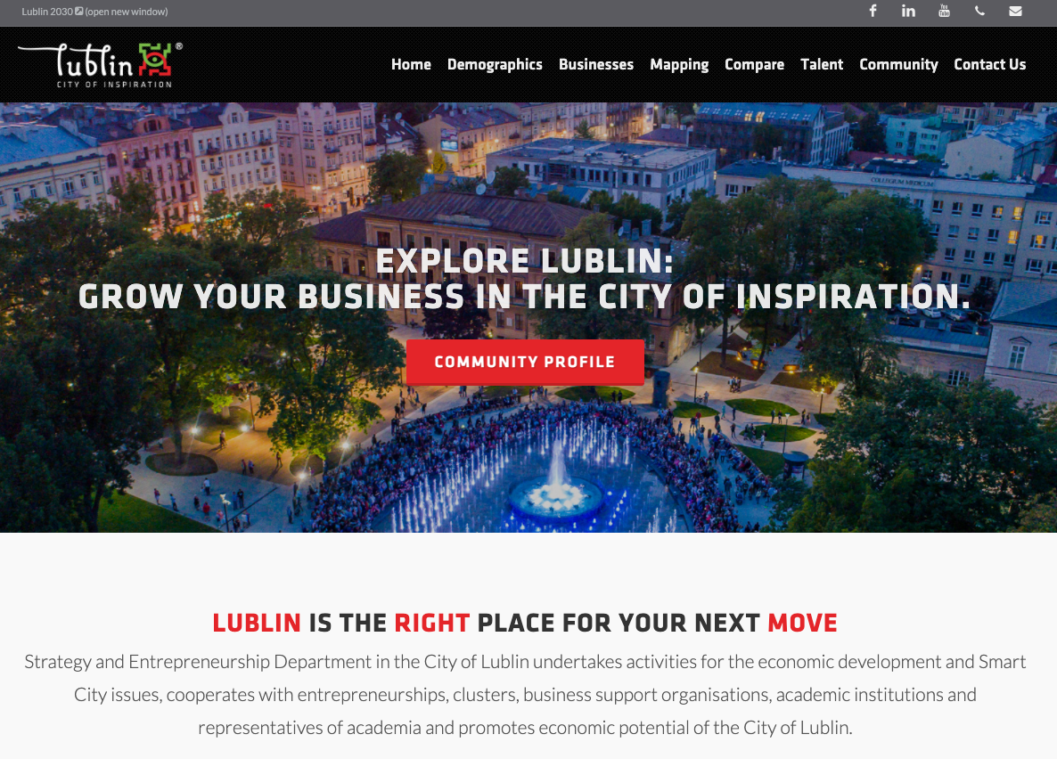 Explore Lublin, Poland data for investment